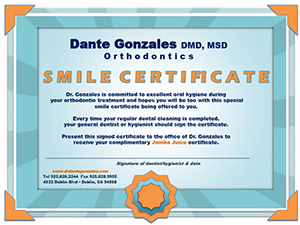 dr gonzales smiles certification