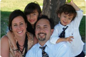 dublin orthodontist dr dante gonzales and family